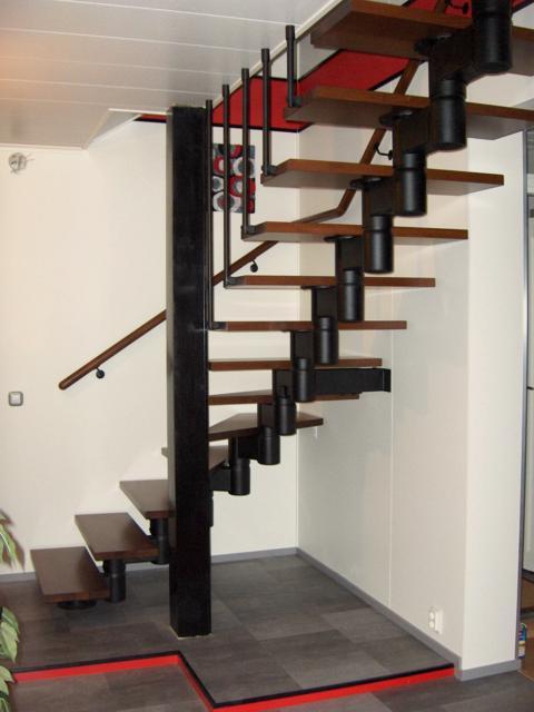 asiakkaan asettamat portaat